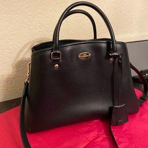 Coach - Black leather purse